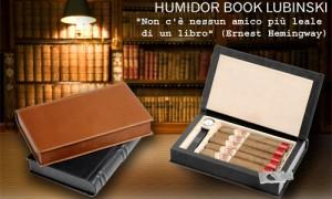 "Humidor ""Book"" Lubinski"