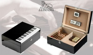 """Humidor """"Piano"""" Lubinski"""
